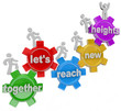 Together Let's Reach New Heights Team on Gears