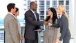 Successful Multi Ethnic Business Team