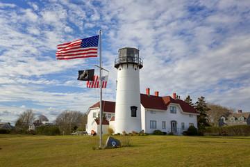 Chatham Lighthouse at Cape Cod, Massachusetts, USA