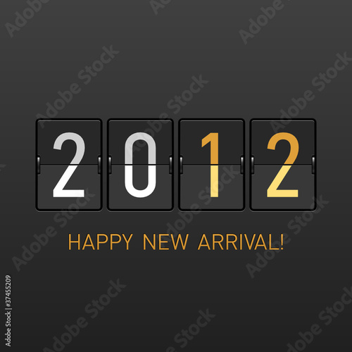 New Year arrival 2012