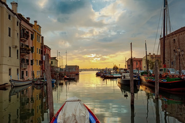 Alba a Chioggia - Venezia