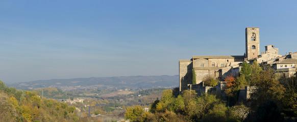 Il borgo medievale di Collevaldelsa