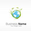 logo planète écologique
