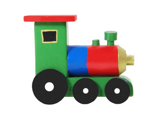 Wooden Locomotive