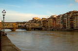 Ponte Vecchio over River Arno in Florence Italy poster