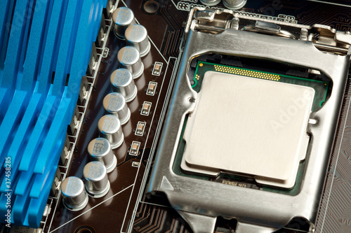 cpu in the socket