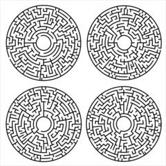 Circular mazes Set 1