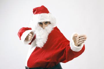 Santa Claus Karate