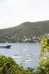Port Elizabeth harbor Bequia St. Vincent The Grenadines