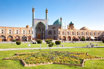 Jame Abbasi mosque on Naqsh-i Jahan Square , Esfahan, Iran