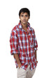 Young indian male with casual attitude