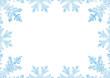 Eiskristalle, winterlich, weihnachtlich, Weihnachtskarte, Eis