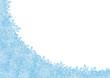 Schneekristalle, Hintergrund, Texfeld, Freifeld, Winter, vereist