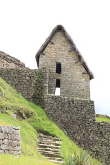 Machu Picchu's house of the guards