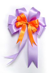 Nice ribbon bow for decorate gift box