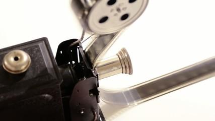 proiettore di film a manovella