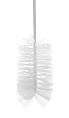 Brush isolated on the white