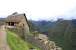 The sentinel's houses of Machu Picchu
