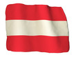 Austria flag of clay