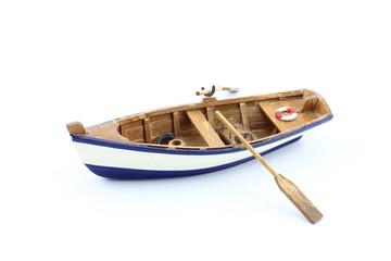 Barchetta di legno