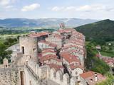 pueblo de frias desde el castillo,burgos,españa poster