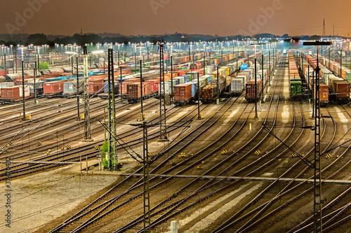Rangierbahnhof in Maschen - Hamburg - 37470432