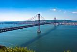Fototapety Lisbon Bridge - April 25th, Old Salazar Bridge, Portugal