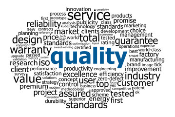 QUALITY Tag Cloud (reliability guaranteed professional service)