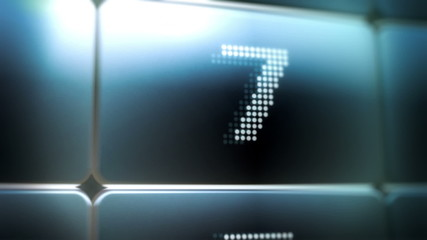 LED Screen Countdown