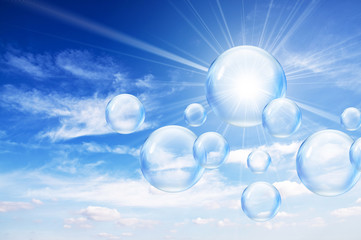 sunshine bubbles