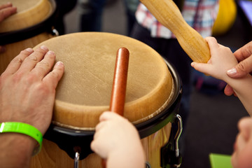 Learning through music, the best place for children