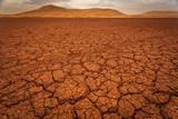 Fototapete Sahara - Blau - Sandwüste