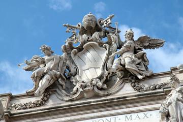 dettaglio Fontana di Trevi