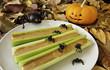 Halloween Celery Sticks