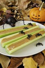 Celery Snacks for Halloween