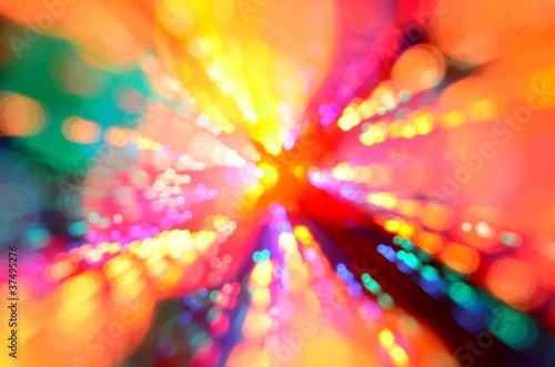 Kolorowy streszczenie wybuch światło tła