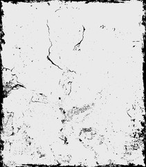 Dirty Crack Textured Wall