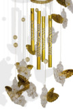 Wind chime with little angels poster
