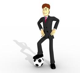 personaje y futbol