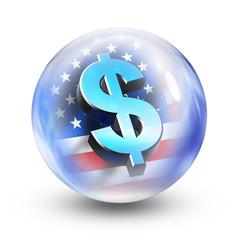 glass ball dollar
