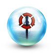 life ring inside sphere
