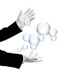 magician bubbles