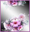 Hintergrund - Blumenkomposition