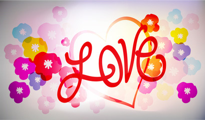 vector - LOVE