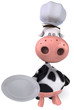 Vache chef