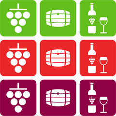 wine pictograms