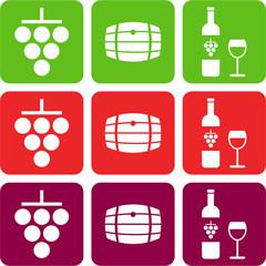 wine pictograms