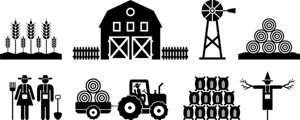 farm pictograms