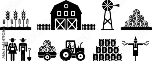 farm pictograms
