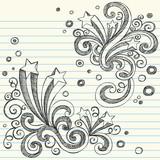 Back to School Style Sketchy Doodles Design Elements Set poster